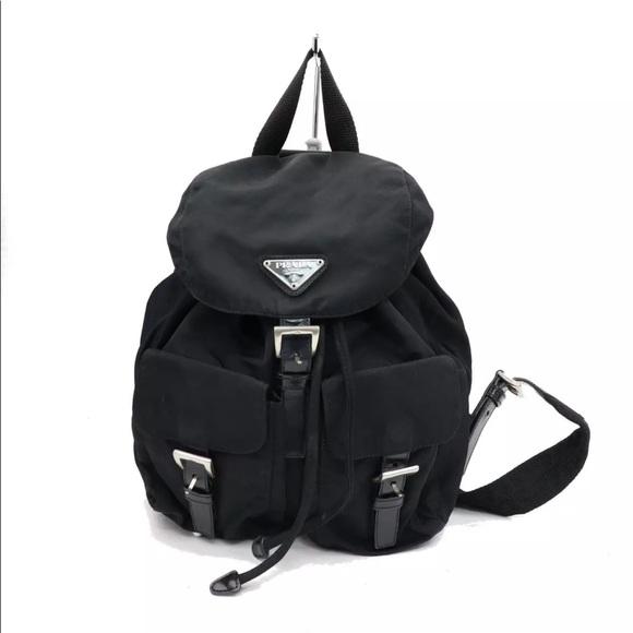 Prada Bags   Authentic Nylon Backpack   Poshmark 2aa107a6fb